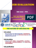 SESI 17-JOB EVALUATION METHDS