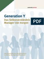 Generation Y - Das Selbstverständnis der Manager von morgen_Signium2013_Studie