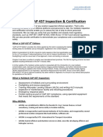 CAP 437 Inspection