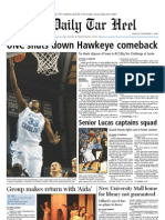 The Daily Tar Heel for December 3, 2010