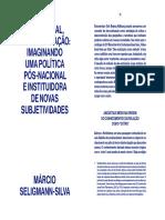 Decolonial des-outrização Seligmann catálogo 21Videobrasil 2020