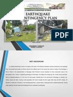 EARTHQUAKE CONTINGENCY PLAN