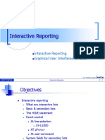 Interactive Reports