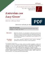 Entrevista con Lucy Green