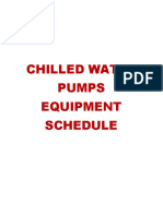 CHWP - Technical Submittal