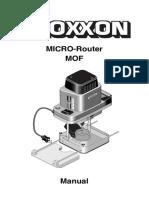 proxxon mof micro router