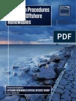 IMarEST Metocean Procedures Guide