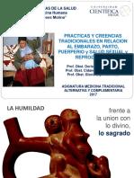 Prác tradicionales en embaraz parto puerperio 05-05-2017.ppt