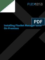 Installing FNMS 2018 R1 on Premises