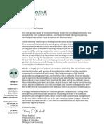 natalie tucker letter of recommendation