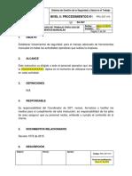 Procedimiento Seguro de Trabajo Para Uso de Herramientas Manuales-A2015051