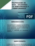 FLUIDOS NEWTONIANOS Y NO NEWTONIANOS.ppt