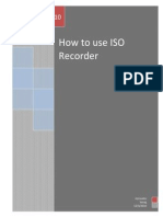 How to Use Iso Recorder