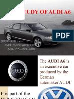 Study of Audi a6