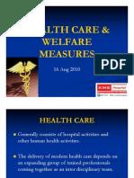 Health Care & Welfare Measures