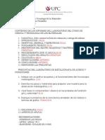 Contenido Del Informe de Cs y Tecn de Los Mat