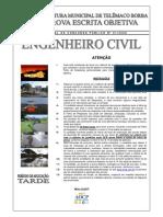 2008 - PR - Telêmaco Borba - Prova