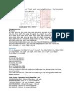 Below the circuit diagram of Yiroshi audio power amplifier driver.docx