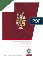 PR-QMS-002 - Procedimiento de Riesgos y Oportunidades - Ver_3