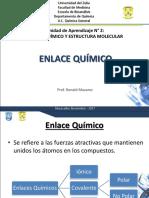 UA 2 TEMAS N° 3 Y 4 ENLACES Y FUERZAS INTERMOLECULAREA.ppt
