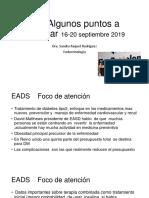 EADS Resumen reunion anual 2019