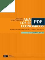 Tratado de métodos de análisis de los sistemas económicos