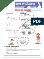 Ejercicios-del-Método-de-Horner-para-Segundo-de-Secundaria