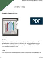 Métodos para o cálculo da carga térmica
