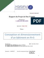 conception et dimensionnement d'un bâtiment en R+3