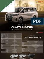 Alphard Brochure