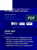 Microsoft Office Share Point Server 2007- Overview