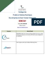 Catalogue des Produits et Solutions Numériques  participants