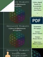 Educación diamantina - Luciana Benítez Schaefer en grupo