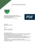 Proposal an Surat Izin Operasional