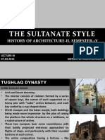 THE SULTANATE STYLE_Lecture IV_13.03.14