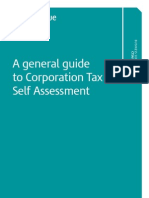 Corporate Tax Self Assessment Guide