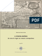 A literatura amazonica - dos textos de viagem aos romances contemporaneos