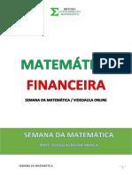 Questões Matemática Financeira