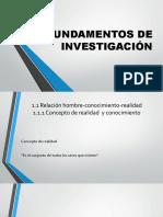 FUND. DE INVESTIGACION