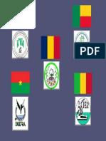 Instituições e bandeiras