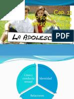 Cap. 12 Desarrollo social y de la personalidad en la adolescencia