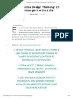 Ferramentas Design Thinking_ 25 técnicas para o dia a dia - Parte 1