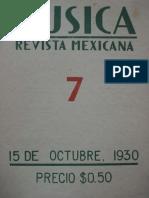 Carlos Chávez-La música propia de México 1930