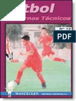 Fútbol cuadernos técnicos N° 12