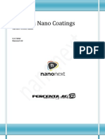 Percenta Nano Coatings Clean With Ease