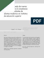 De Brans- nuevas estrategias para la enseñanza grecolatina