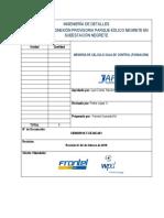 SE002R019-T-CE-MC-001_0 Memoria de cálculo Sala de control (Fundación)