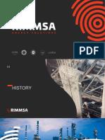 Presentación Corporativa RIMMSA-MANUFACTURA_ENG