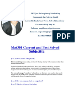 Mgt301 Current and Past Solved Subjective.pdf