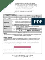 PLANEACIÓN SEMANAL 2020 -  2Y3 Tecnologia -  10°.docx